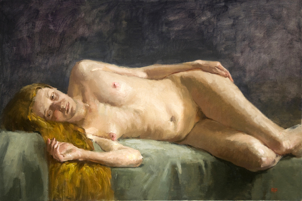 Side-Reclining Nude