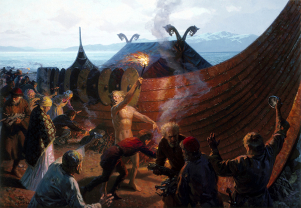 A Viking Cremation