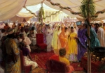 Alexander The Great Celebrates A Mass Marriage In Susa,Persia