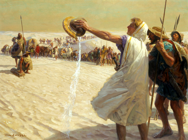 Alexander The Great Refusing Water In The Desert