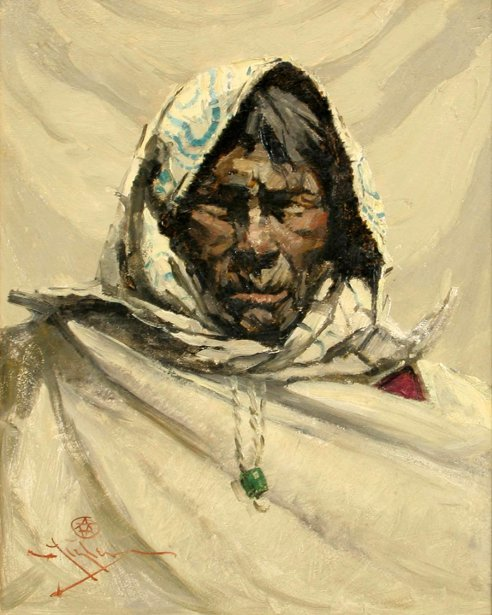 An Old Eskimo
