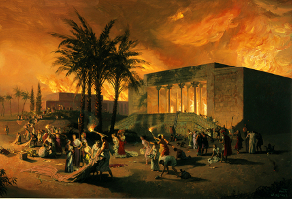 Attack On The Ancient City Of Persepolis - Destruction Of Persepolis By Alexander The Great