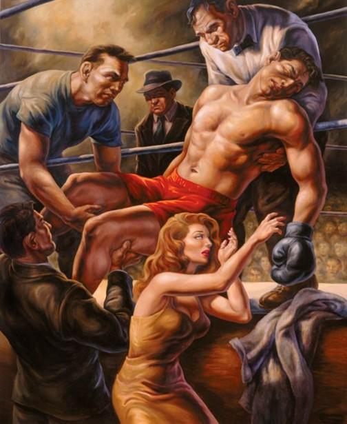 Boxing Pieta