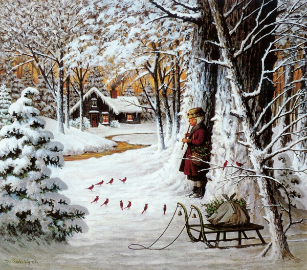 Cardinal Christmas Serenade