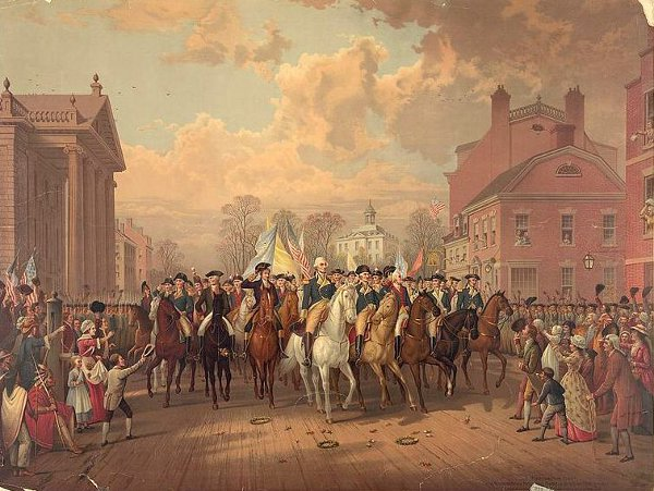 Evacuation Day (Washington's Triumphal Entry In New York City, Nov. 25th, 1783)