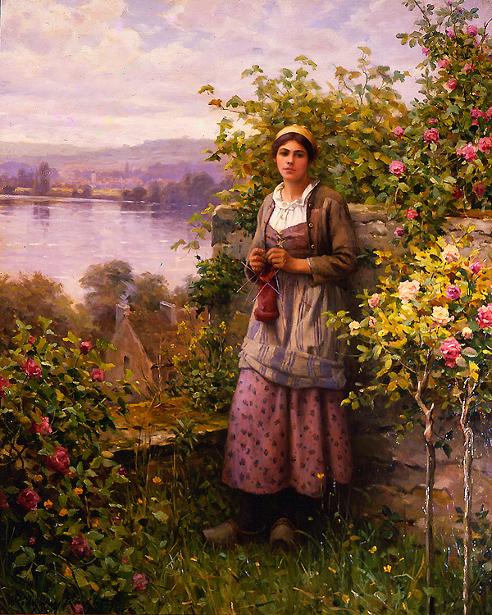 Julia, Corner Of The Garden