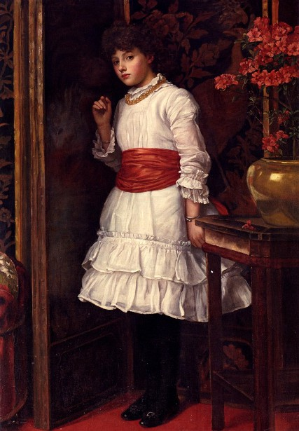 Matilda In The Red Sash