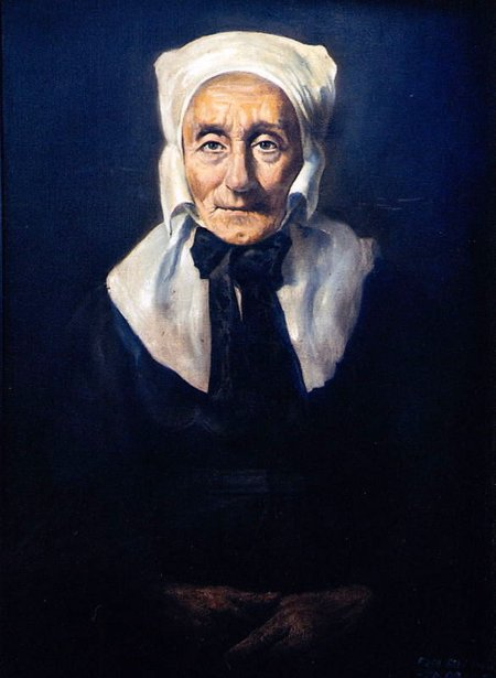 Old Woman Of Spreewald
