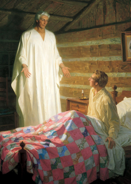 The Angel Moroni Appears To Joseph Smith