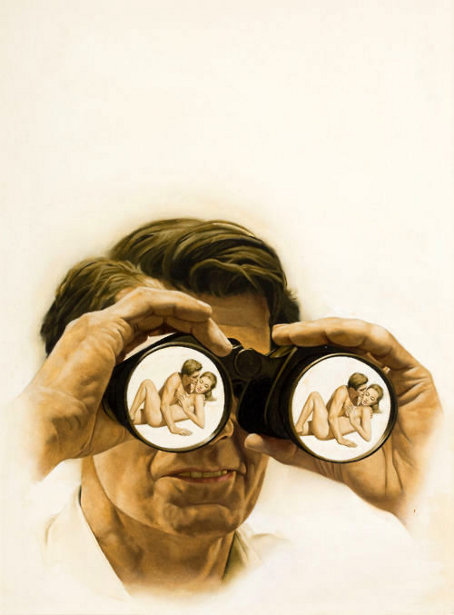 The Nude Who Did - Through The Binoculars