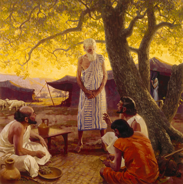 Three Strangers Reveal The Future To Abraham
