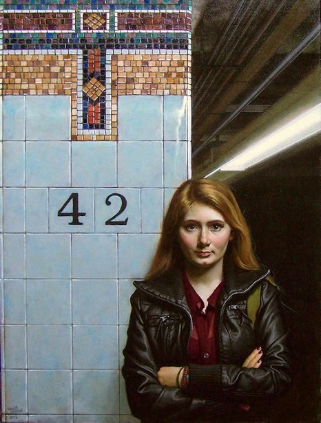 Young Girl - 42nd St.
