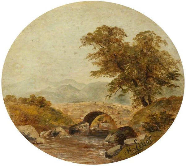 A Bridge Near Llangollen