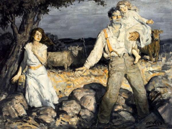 Edmund Franklin Ward (1892 – 1990) Approaching Storm