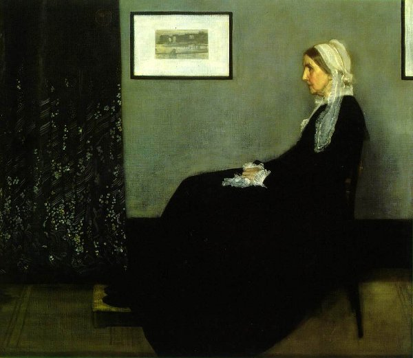 Arrangement In Grey And Black - Portrait Of The Painter's Mother