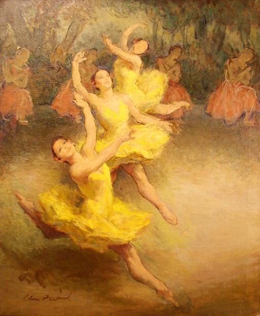 Edmund Franklin Ward (1892 – 1990) Ballerinas