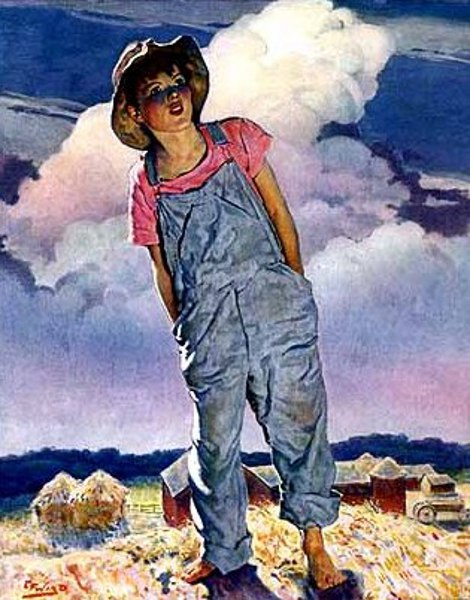 Edmund Franklin Ward (1892 – 1990) Country Gentleman cover