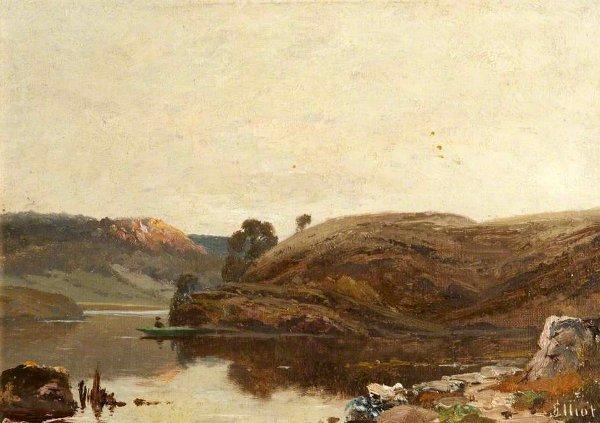 John Elliot - Highland Loch