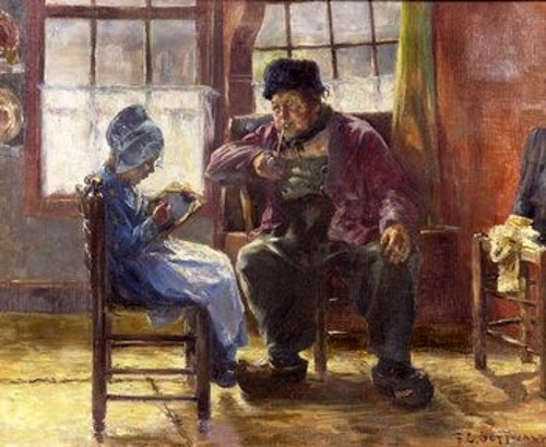 Interior Scene, The Lesson