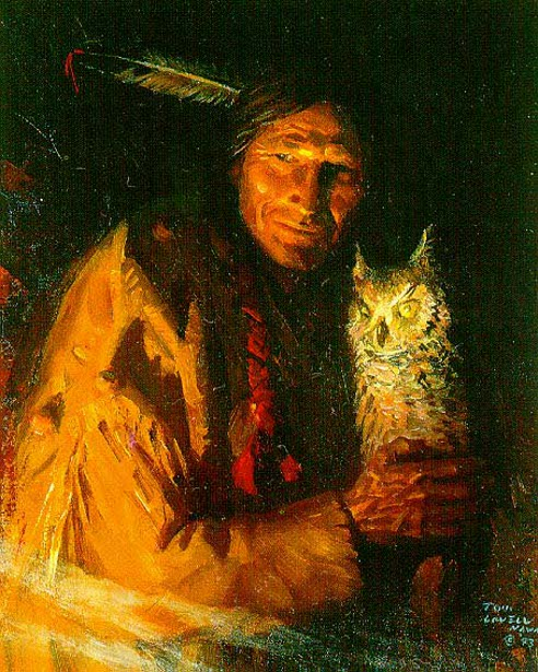 Kiowa Ventriloquist