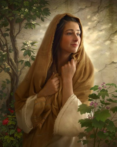 Mary Kept All These Things And Pondered Them In Her Heart