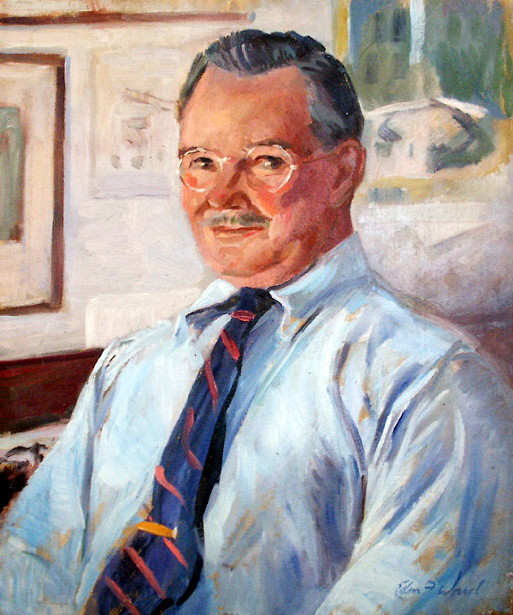 Edmund Franklin Ward (1892 – 1990) Self-Portrait