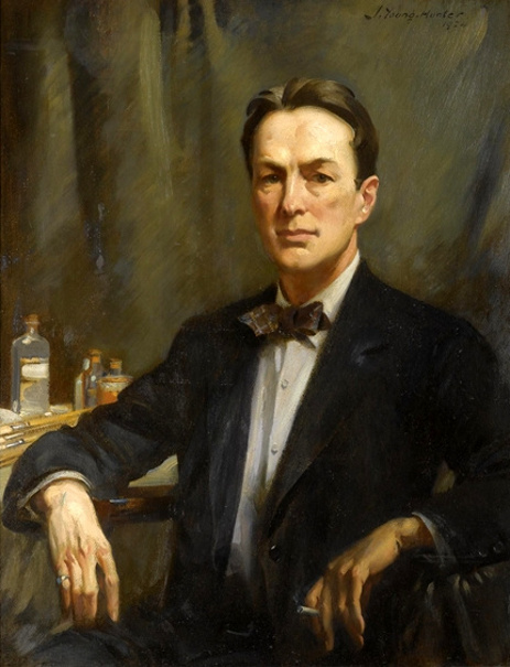 John Young Hunter (1874 – 1955) Self-Portrait