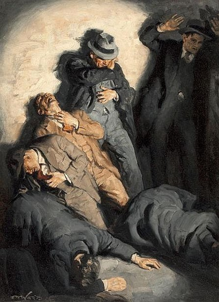 Edmund Franklin Ward (1892 – 1990) St. Valentine's Day Massacre