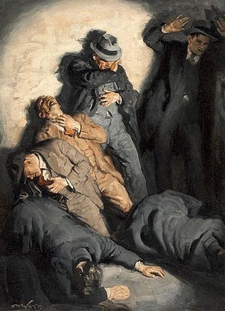Edmund Franklin Ward (1892 – 1990) St. Valentine's Day Massacre