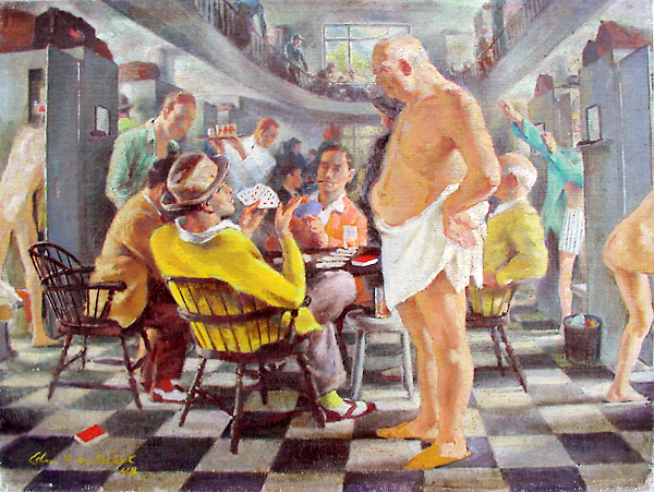 Edmund Franklin Ward (1892 – 1990) The Baths