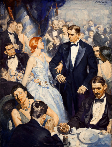 Edmund Franklin Ward (1892 – 1990) The Belle Of The Ball