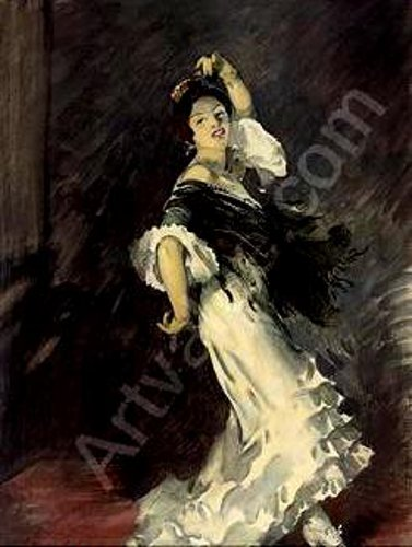 John Young Hunter (1874 – 1955) The Flamenco Dancer