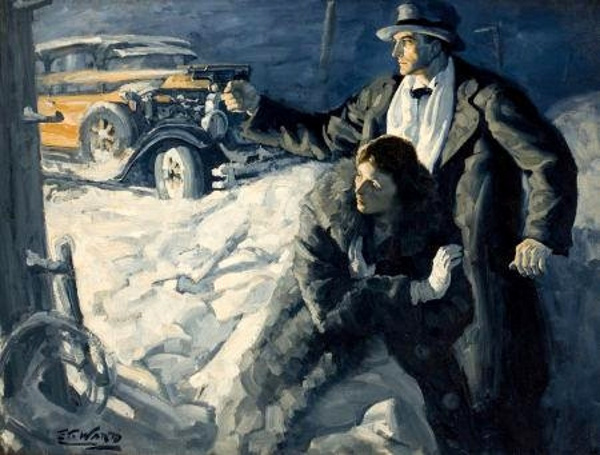 Edmund Franklin Ward (1892 – 1990) The Roaring Twenties