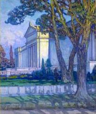 View Of The Cleveland Museum Of Art