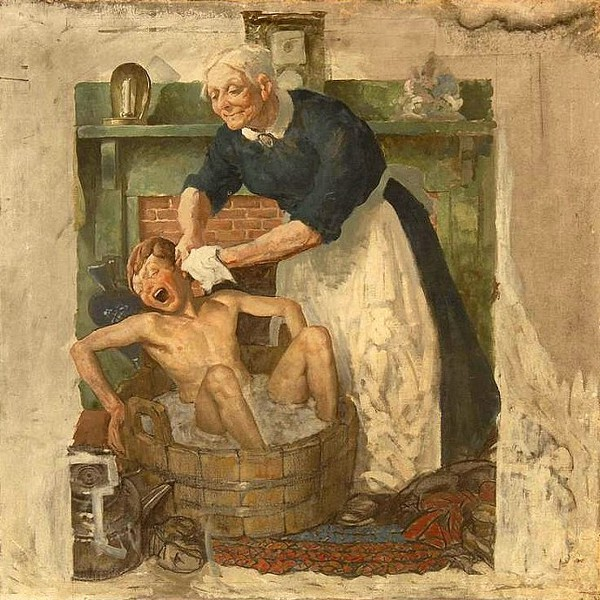 Edmund Franklin Ward (1892 – 1990) Wash Day