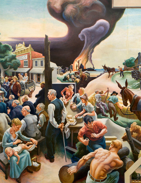 A Social History Of The State Of Missouri (detail)
