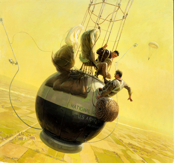 Balloonists Struggle To Escape A Doomed Gondola