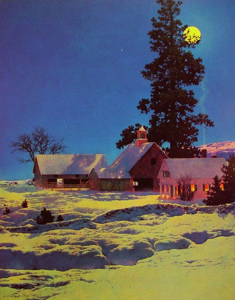 Moonlit Night, Winter