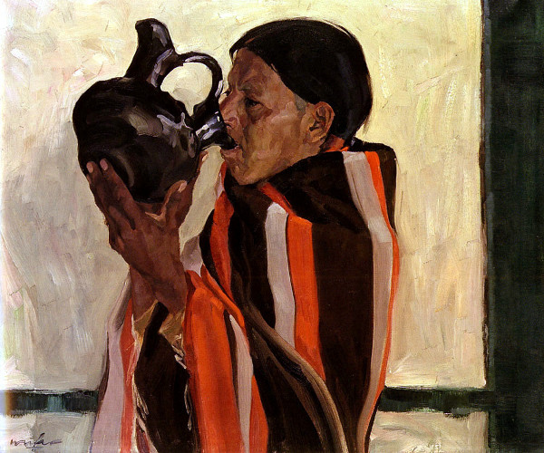 Taos Indian Drinking