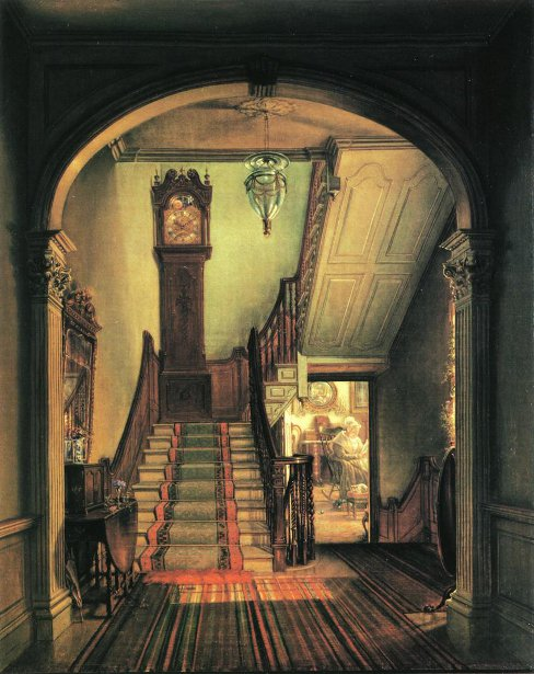 The Old Clock On The Stairs