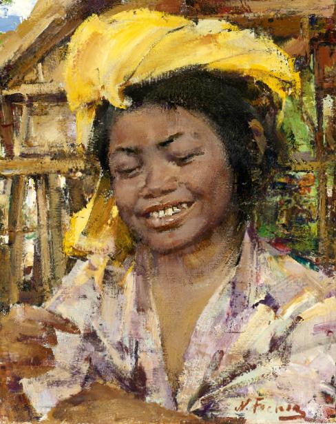 Balinese Peasant Girl