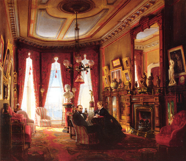 Parlor On Brooklyn Heights Of Mr. And Mrs. John Ballard