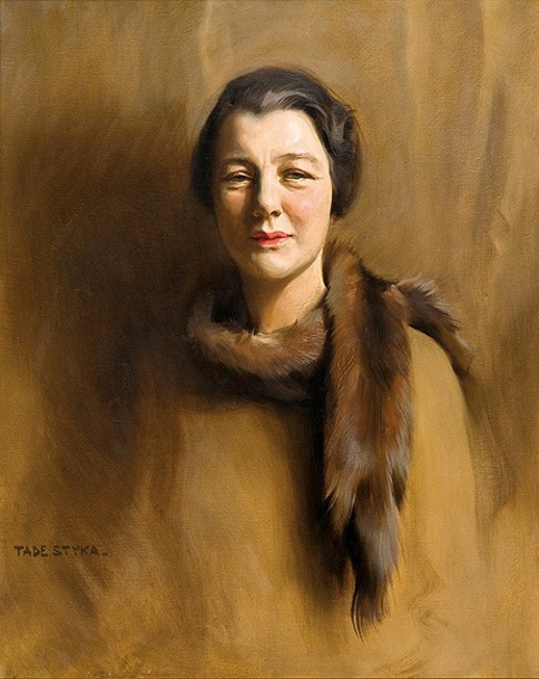 Portrait Of A Lady - Lady In Furs