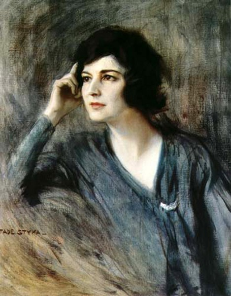 Portrait of Clara Clemens Gabrilovisch (Mark Twain's Daughter)