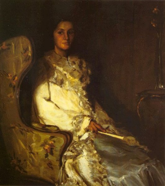 Portrait Of Mrs. P.