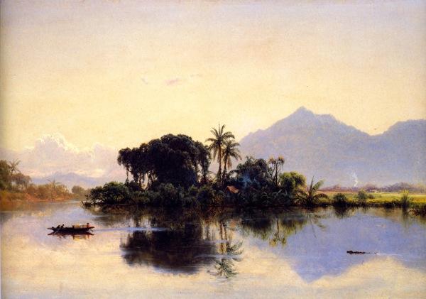 River Scene, Ecuador