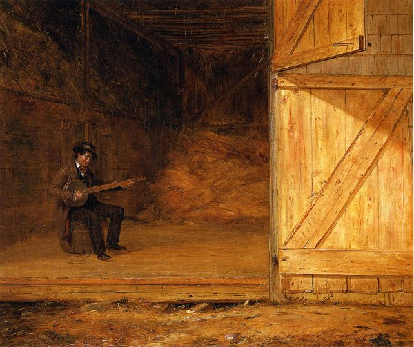 The Banjo Player In The Barn