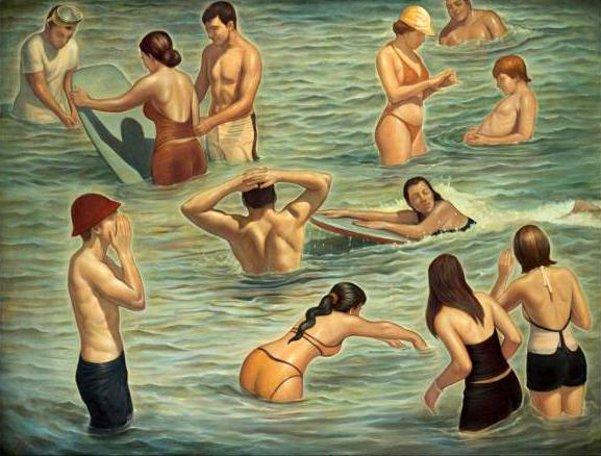 Bathers, Newport