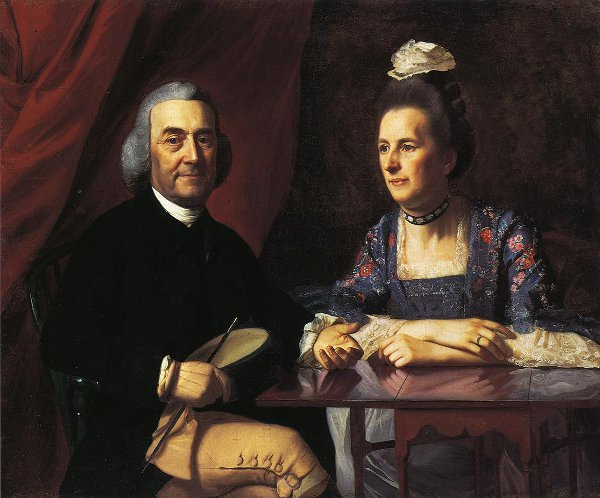 Mr. And Mrs. Isaac Winslow (Jemina Debuke)