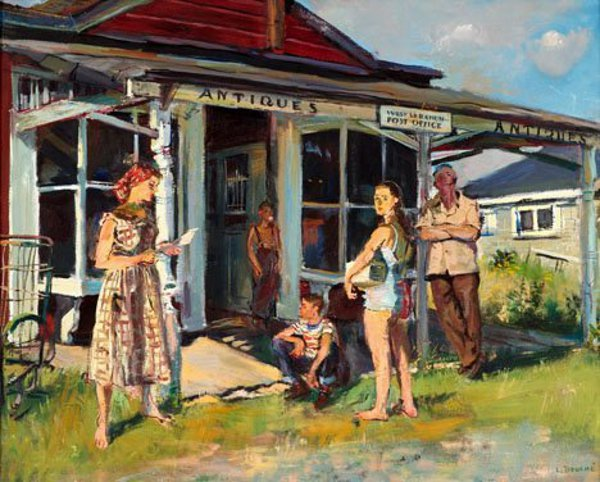 Myron Watkins, Postmaster